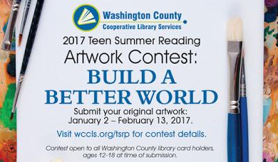 2017 Teen Summer Reading Artwork Contest