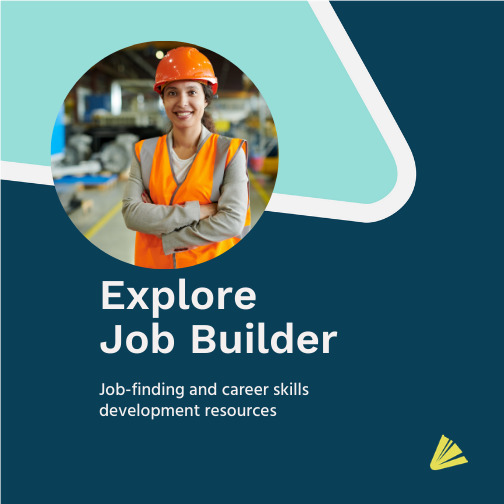 Explore Job Builder