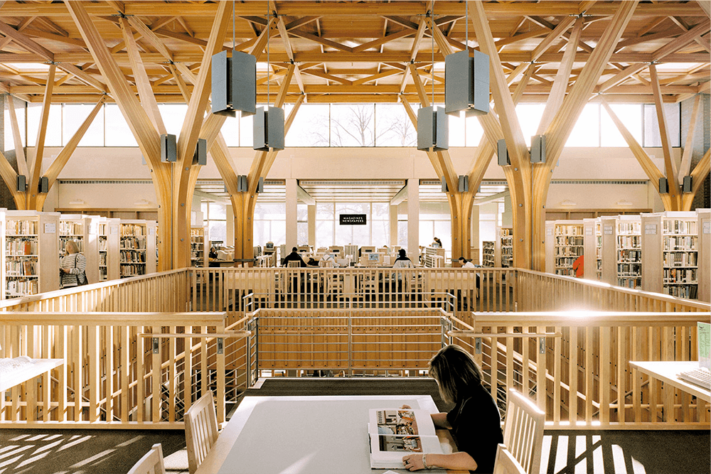 Interior of the Beaverton Main Library