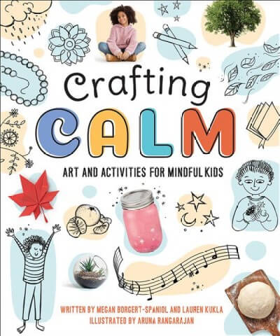 Cover image of Crafting Calm by Megan Borgert-Spaniol