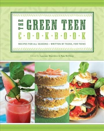 Cover image of the Green Teen Cookbook