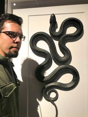 """At the OMSI exhibit """"Exquisite Creatures"""" in fall 2019"""