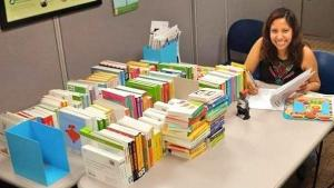 Organizando y preparando libros para niños